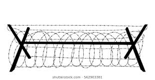 Barbed Wire Fence Images Stock Photos Vectors Shutterstock