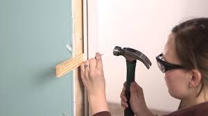 Installing an Interior Single Door with Split Jamb - YouTube