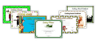 Bake Off Certificate Templates – Nortetic