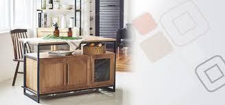 industrial kitchen table furniture. Tinwood Scandi Industrial Kitchen Island Dining Table Cum Cabinet Furniture