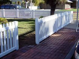 vinyl picket fence front yard. Vinyl Front Yard Fence In Straight Pickets. This Simple Design Is A Beautiful No Fuss Picket R