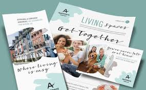 Apartment Marketing – Brochures, Flyers, Newsletters & Postcards ...