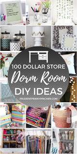 100 diy dollar dorm room ideas
