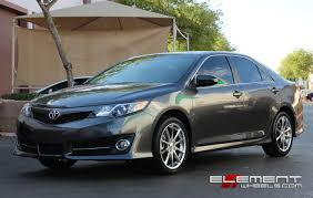 Ace Alloy Convex on 2014 Toyota Camry w/ Specs Wheels