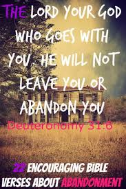 Comforting Christian Quotes Best of 24 Encouraging Bible Verses About Abandonment