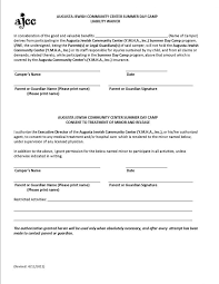 Sample Liability Release Form. Non Compete Agreement Between Two ...