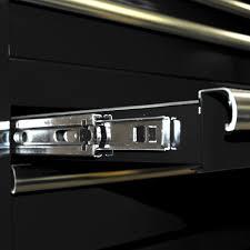 Cabinet Drawer Rails Tool Box Ball Bearing 15 Drawer Slides Cabinet Hard Wood Surface