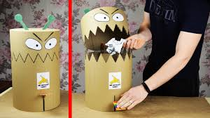 Image result for pictures of funny trash can