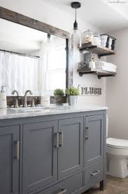 Light Gray Bathroom Wall Cabinet 17 Classic Gray And White Bathrooms