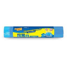 <b>Мешки для мусора</b> `<b>ФРЕКЕН</b> БОК` затяжка, синий (60л) 10 шт ...