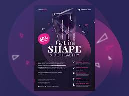 Fitness Flyer By Webduckdesign On Dribbble