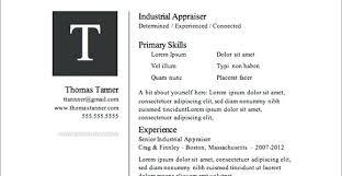 Google Resume Templates Modern Resume Template For Google Docs
