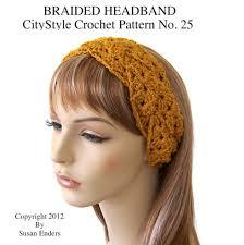 Crochet Patterns For Headbands Custom Womens Crochet Headband Pattern Crochet And Knit