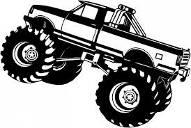 Printable Monster Truck Coloring Pages For Kids Images Adult