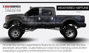 weathered neptune style 1 truck wraps