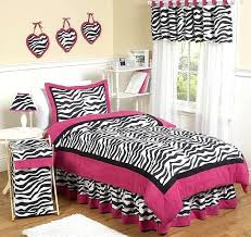 animal print bedding set queen bed skirt for zebra pink animal print bedding set by designs
