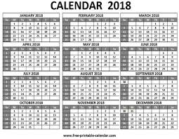free printable 12 month calendar free printable 2018 calendars download free 2018 calendar