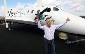 Sir Richard Branson set for first space ...