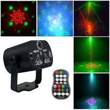 Laser Light Projector Mini 60 Patterns Colorful Led Stage Laser Lighting Effect Usb Light Projector For Wedding Birthday Dj Disco Party