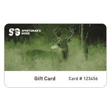 sportsman s guide gift card