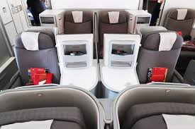 Review Iberia A330 200 Business Class Daytime Flight