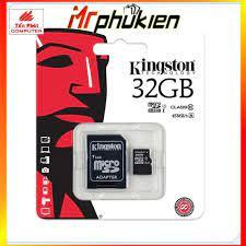 THẺ NHỚ MICROSD KINGSTON 32Gb CLASS 10 - MrPhukien - Thẻ nhớ máy ảnh Hãng  Kingston