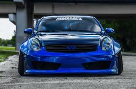 Infiniti G35 Coupe Widebody Fender Flares