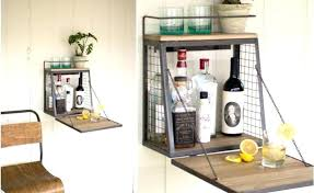 wall mounted bar cabinet cabinets a inspired by spinning coin