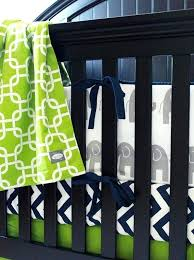 navy blue and green nursery baby boy nursery bedding set navy blue and lime green crib bedding elephant per pad chevron crib sheet crib skirt and blanket