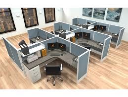 modular workstation furniture system. 6x6 modular workstations from ais 6 pack cluster workstation furniture system