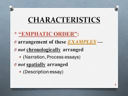 "illustration example essay ppt video online  8 characteristics ""emphatic"