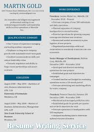 Writing A Resume Format