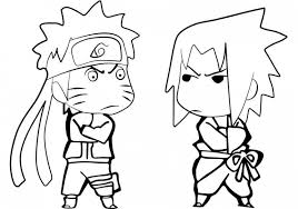 Chibi Naruto Coloring Pages Amazing Get This 90578 And 4
