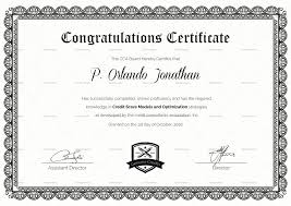 Congratulations Certificate Congratulations Certificate Design Template In PSD Word 16