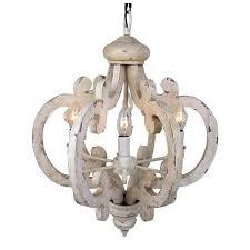 white wooden chandelier white wooden chandelier white wooden chandelier 6 light