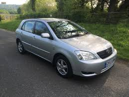 Used 2003 Toyota Corolla T3 VVT-I 5dr for sale in Caterham Surrey ...