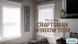 Craftsman Window Trim Remodelaholic Diy Easy Craftsman Window Trim