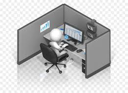 office cubicle clipart. Simple Clipart Cubicle Desk Office Computer Clip Art  Industrial And Organizational  Psychology On Clipart
