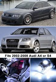 Amazon.com: Classy Autos Audi A4 S4 WHITE LED Lights Interior ...