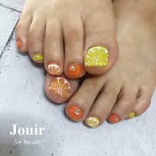 フットラメフルーツオレンジイエロー Jouir For Beauty Hair