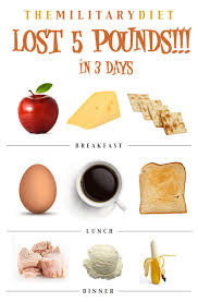 The Military Weight Loss Diet