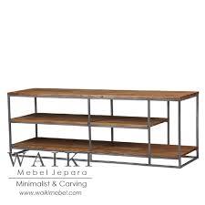 industrial metal and wood furniture. Tv Cabinet Kayu Besi,jual Mebel Besi Jepara, Model Jepar Industrial Metal And Wood Furniture