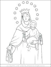 Rosary Coloring Pages Running Downcom