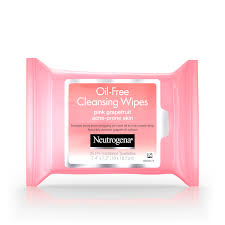 at a glance pink gfruit scent vitamin c oil free cleansing wipes