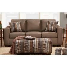 affordable furniture sensations red brick sofa. Affordable Furniture Mfg Structure 3604 Queen Sleeper Sofa (Toast) Sensations Red Brick