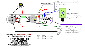 Four Way Switch Wiring Diagram Telecaster 4 Way Selector Switch