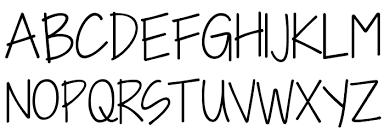 i need a kg i need a font font download