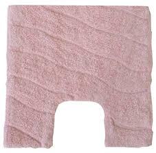 <b>Коврик</b> д/туалета <b>FORA Trendy</b> волна розовый 50х50 FOR-TR050 ...