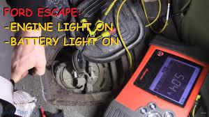 2005 Ford Escape Battery Light Ford Escape Engine Light Battery Light On