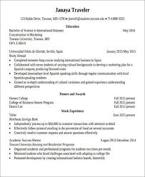 How To Put Study Abroad On Resume 40 Resume Format Samples Fascinating How To Put Study Abroad On Resume